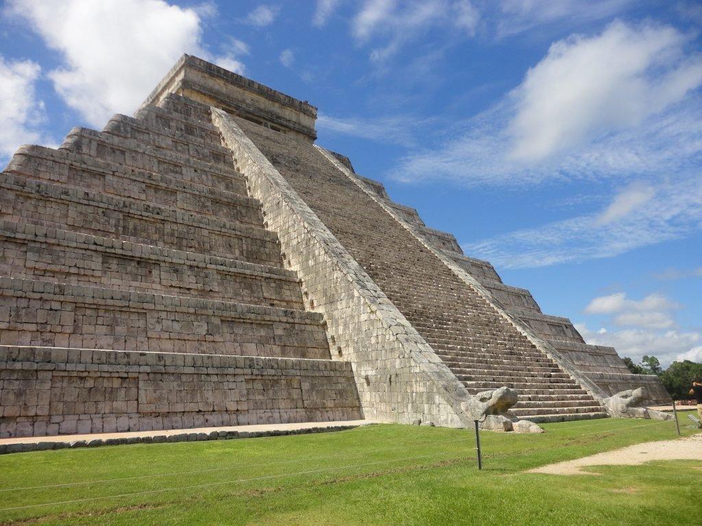 Die berühmte Pyramide Chichen Itza