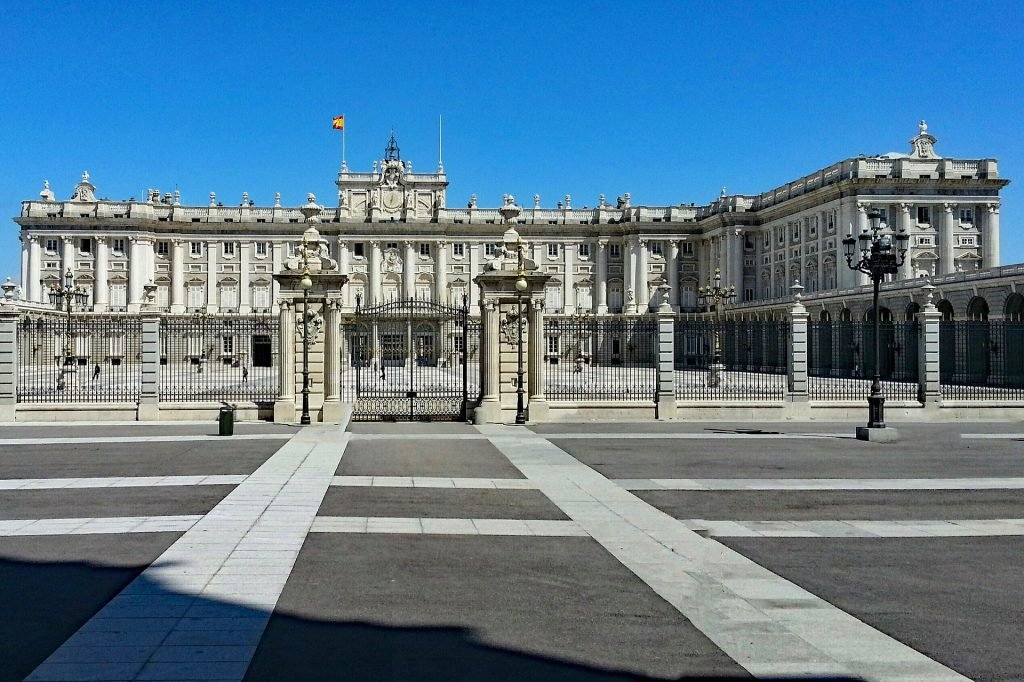 The Palacio Real in Madrid