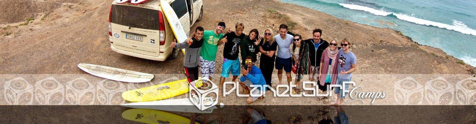 Planet Surf nach dem Kurs in den Kanarischen Inseln