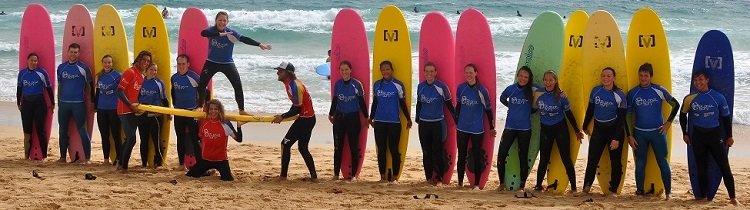Surfcamps Australien
