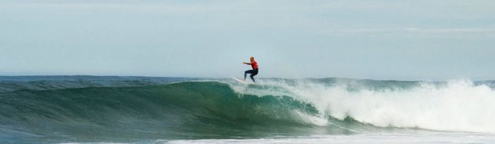 Floater at the Quiksilver Pro in Hossegor