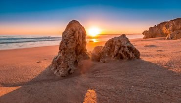Traumstrand an der Algarve