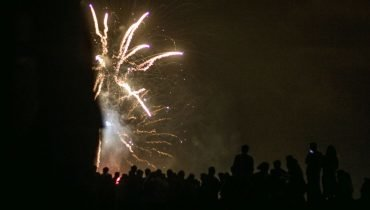 Fireworks in Moliets