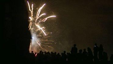Feuerwerk in Moliets
