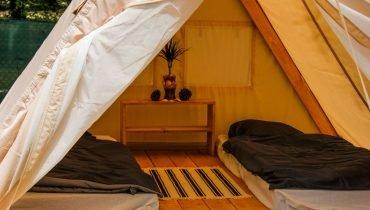 Glamping tent accommodation  - Surf camp Vieux Boucau