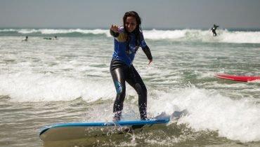 Learn surfing in Moliets