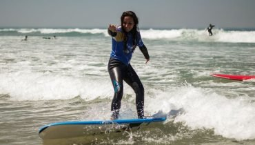Surfen lernen in Moliets