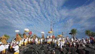 Hinduistisches Fest in Bali